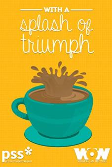 With a Splash of Triumph